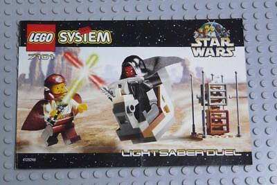 LEGO INSTRUCTIONS MANUAL BOOK ONLY 7101 Lightsaber Duel x1PC