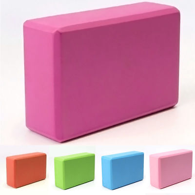 Yoga Foaming Foam Brick Block Home Health Gym Exercise Fitness Sport Tool 5color