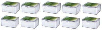 10 x Ultra Pro Hinged Clear Box pour 100 cartes storage cards boîte case 430054