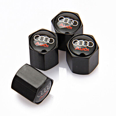 Universal Car Decorations Wheel Tyre Dust Cover Tire Valve Cap For Audi S3 S4 S6