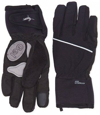Sealskinz Women's Winter Cycle Glove - Black, Small. Delivery is Free