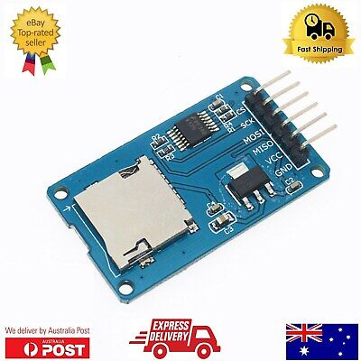 1 / 2 pieces Micro SD Card Read Write Module for Arduino - Priority Sydney Post
