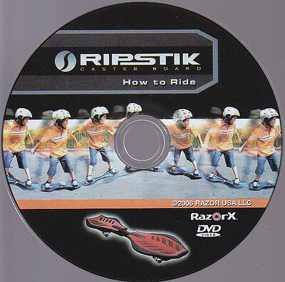 How to Ride a Rip Stick DVD