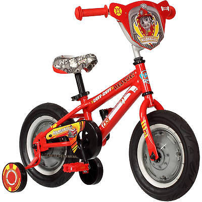 "12"" Paw Patrol Boys Bike Toddler Bicycle Training Wheels 2 to 4 years Kids NEW"