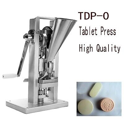 Manual Type Single Punch Tablet Press Pill Making Machine Maker T with a hopper