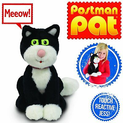 """Postman Pat 10"""" 25cm Stoke n Purr JESS Touch-Reactive NEW IN DISPLAY BOX"""