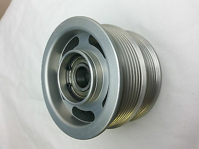 Mercedes AMG BNIB Billet double Idler Pulley Supercharger 1132020419