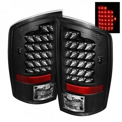 Spyder Auto (ALT-JH-DR07-LED-BK) Dodge RAM Black LED Tail Light - Pair