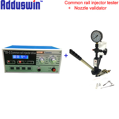 CR-C Multifunction Diesel Common Rail Injector Tester + Nozzle Vaidator Tool Set