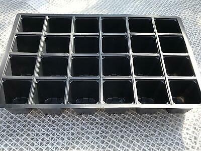20 x 24 CELL SEED TRAY INSERTS + 10% EXTRA FREE