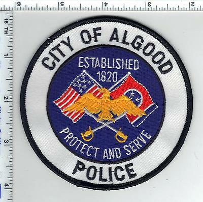 City of Algood Police (Tennessee) Shoulder Patch from the 1980's