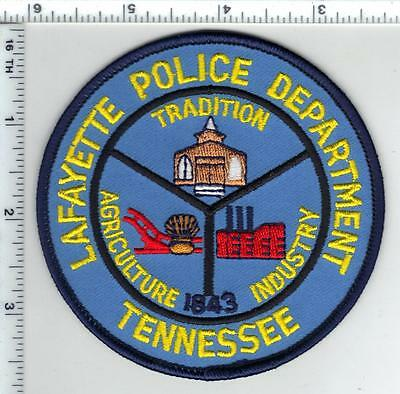 Lafayette Police (Tennessee) Shoulder Patch from the 1980's