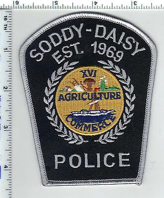 Soddy-Daisy Police (Tennessee) Shoulder Patch from the 1980's
