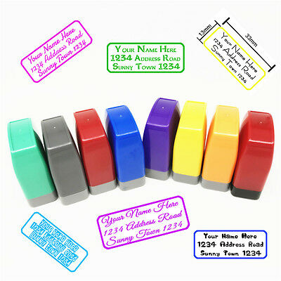 Personalized Rubber Stamp Custom Handle Mounted Returned Address Wedding Stamps