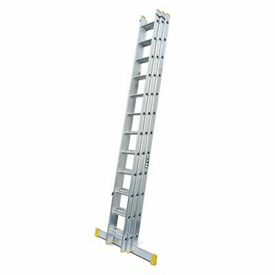LYTE Trade Double & Triple Extension Ladders UK MANUFACTURE - EN131