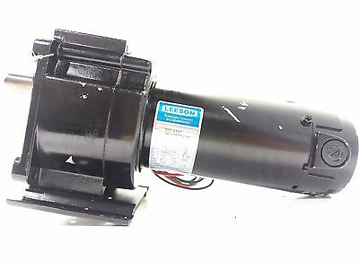 LEESON M1125074.00 DC Speed Reducing Gear Motor 90V 1/8HP 167RPM 11:1 Ratio 30