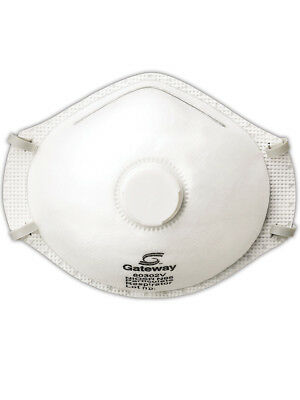 Gateway Safety TruAir 80302V Disposable N95 Respirator, 10/DP