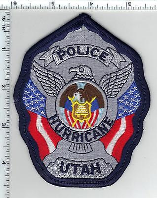 Hurricane Police (Utah) Shoulder Patch from the 1980's