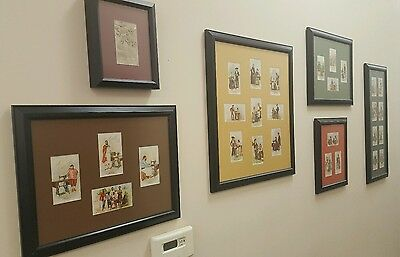 SINGER SEWING CO. Framed Costumes of All Nations Trading Card Full Set 1893
