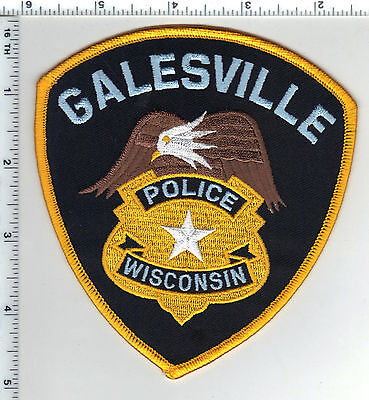 Galesville Police (Wisconsin) Shoulder Patch from the 1980's