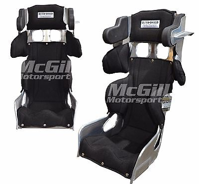 """Ultra Shield Small Adult VS Halo Race Bucket Seat + Black Cover Size 12 & 13"""""""