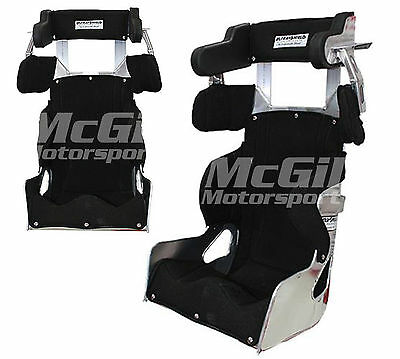 """Ultra Shield Full Containment Adult Race Seat Cover 20deg Size 14""""-17"""" Brisca F2"""