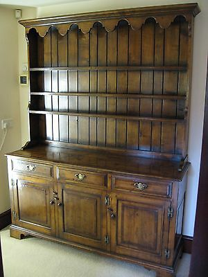 18th Century Style 5ft Cherry Wood Dresser and Display Rack Brights of Nettlebed