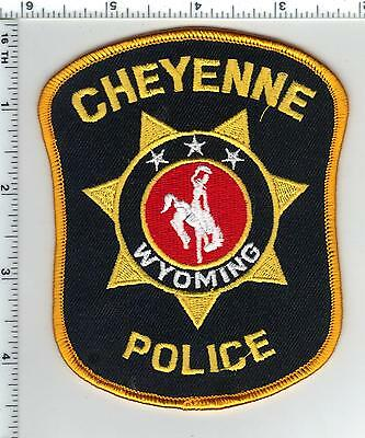 Cheyenne Police (Wyoming) Shoulder Patch from the 1980's