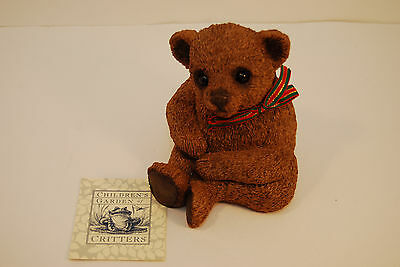 Children's Garden of Critters- Bear Cub Bank~Free Shipping