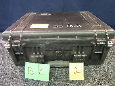 Nicolet Data Acquisition System Model Vision Interface Pelican Case 1550 Used
