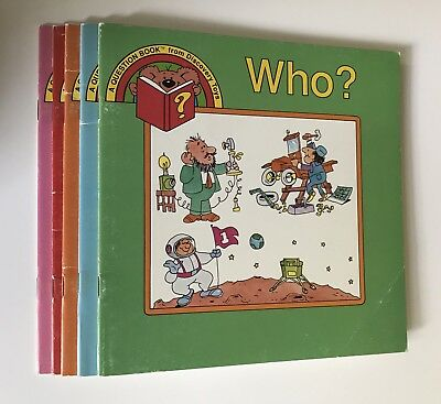 Discovery Toys Children Picture Questions Books Lot Of 5