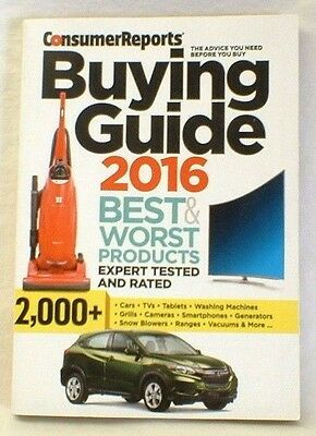 2016 consumer reports used car buying guide new 35 00 picclick rh picclick com consumer reports car buyers guide 2017 consumer reports car buying guide 2017