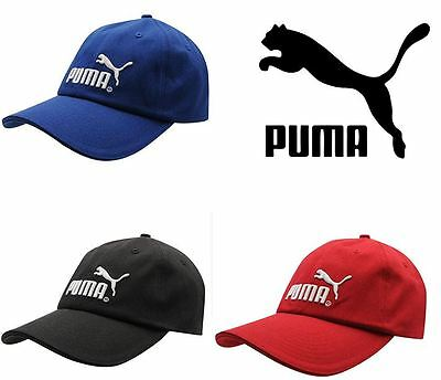Puma Cap Original Baseball Mens Knitted Hat Genuine New Black Red Blue Beanie