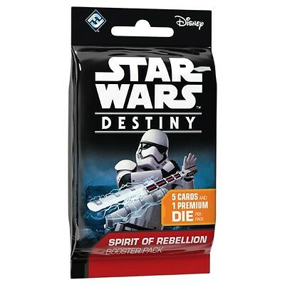 Star Wars Destiny: Spirit of Rebellion Booster Pack NEW SEALED Free Shipping