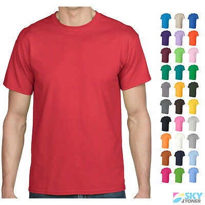 Gildan DryBlend 50/50 T-Shirt Plain Blank Solid Short Sleeve Tees S-5XL 8000