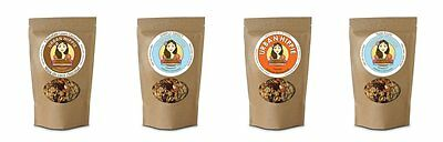 4 Flavor Variety Pack - #2 Organic Gluten Free Natural Cereal Granola