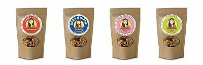 4 Flavor Variety Pack - #3 Organic Gluten Free Natural Cereal Granola