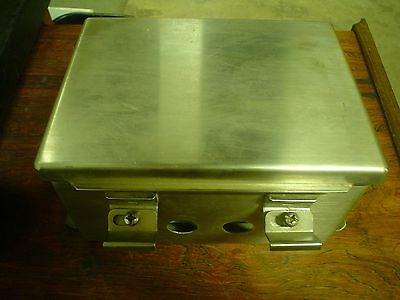 Qty 1 Hoffman A-8064CHNFSS Enclosure Stainless Steel - Used - 60 day warranty