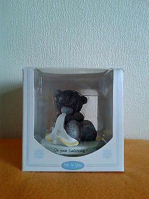 Me To You - On Your Christening Tatty Teddy Ornament  Gift