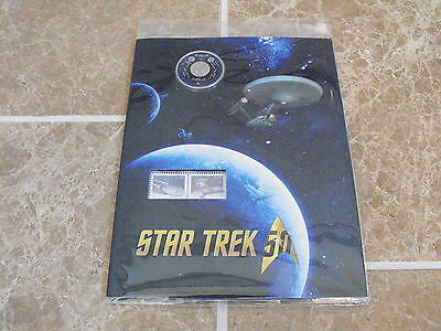 Canada 2016 Star Trek Coin and Stamp Set - New & Sealed