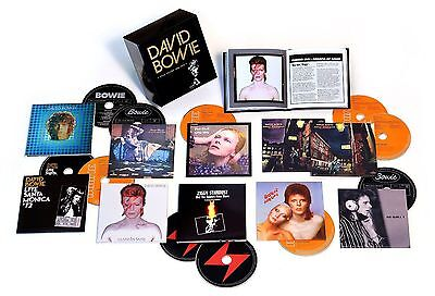"NEW SEALED! David Bowie ""Five Years 1969-1973"" 12 CD Box Set Collection"