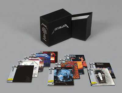 "NEW SEALED! Metallica ""The Album Collection"" 13 CD Mini-LP Japan Box Set"