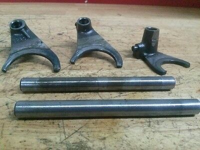 1976 Can-Am Can Am Bombardier MX2 125 shift forks and shafts *