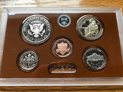 2014 S Partial Proof Set Kennedy Dime Nickel Cent Dollar CN-Clad US Mint 5 Coins