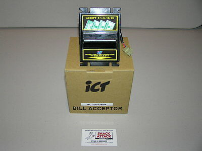 GAINES COMBO BILL ACCEPTOR BL-700 - Accepts New $1's, $5's, $10's & $20's