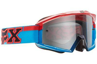 Fox Main 180 MX Goggles - Imperial Red/Blue