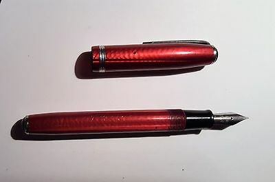 Vintage ESTERBROOK Fountain Pen 1551 Red burgandy