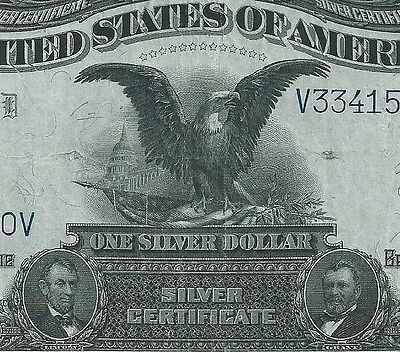 1899 $1 Silver Certificate  << Black Eagle >> 5 Of 5