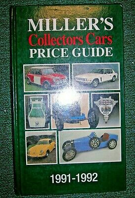 MILLER'S COLLECTORS CARS PRICE GUIDE 1991-1992 (VOLUME I)., Miller, Judith & Mar