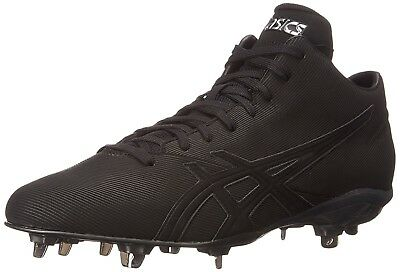 (11.5 D(M) US, Black/Black) - ASICS Men's Crossvictor QT Baseball Shoe. Best Pri